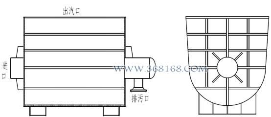 吹管消声器结构简图