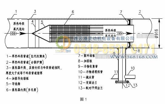 集粒器,集渣器工艺设计图