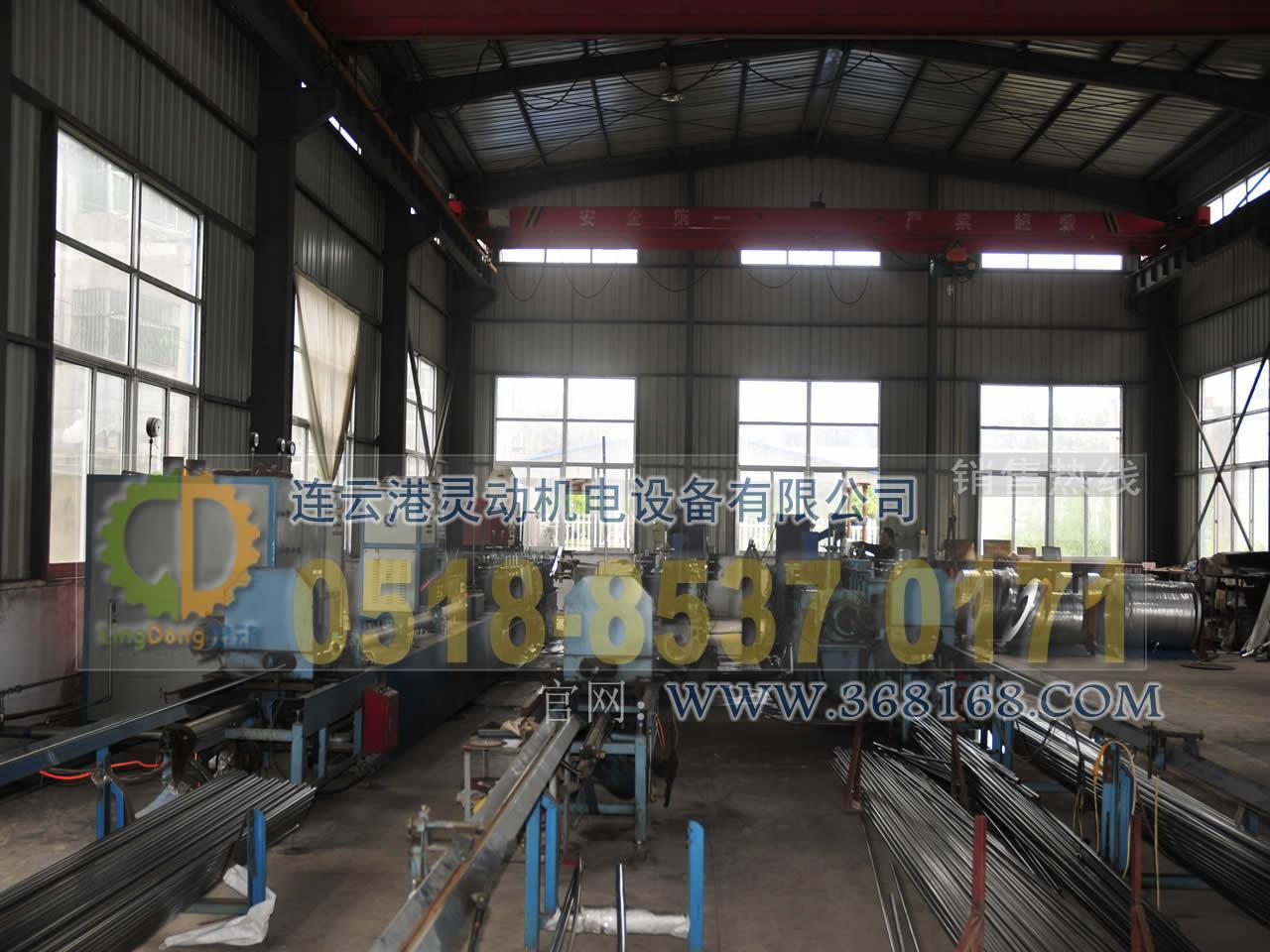 不锈钢管生产线