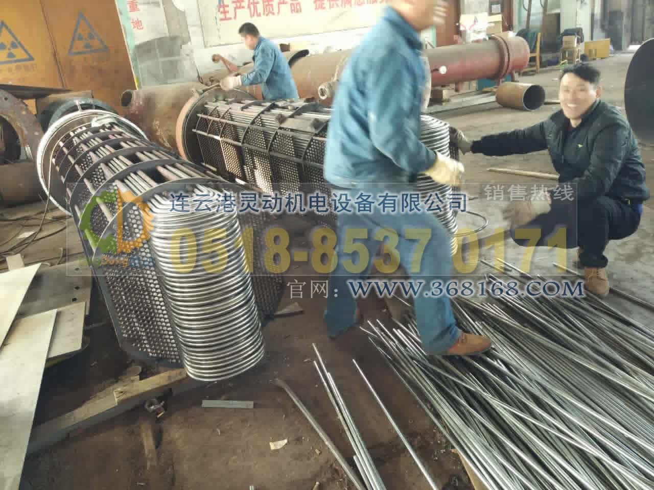 高压加热器不锈钢U型管换管改造