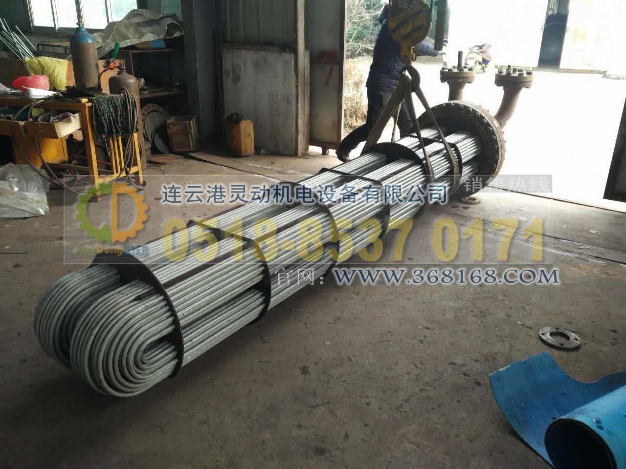 高压加热器高压不锈钢U型管换管改造
