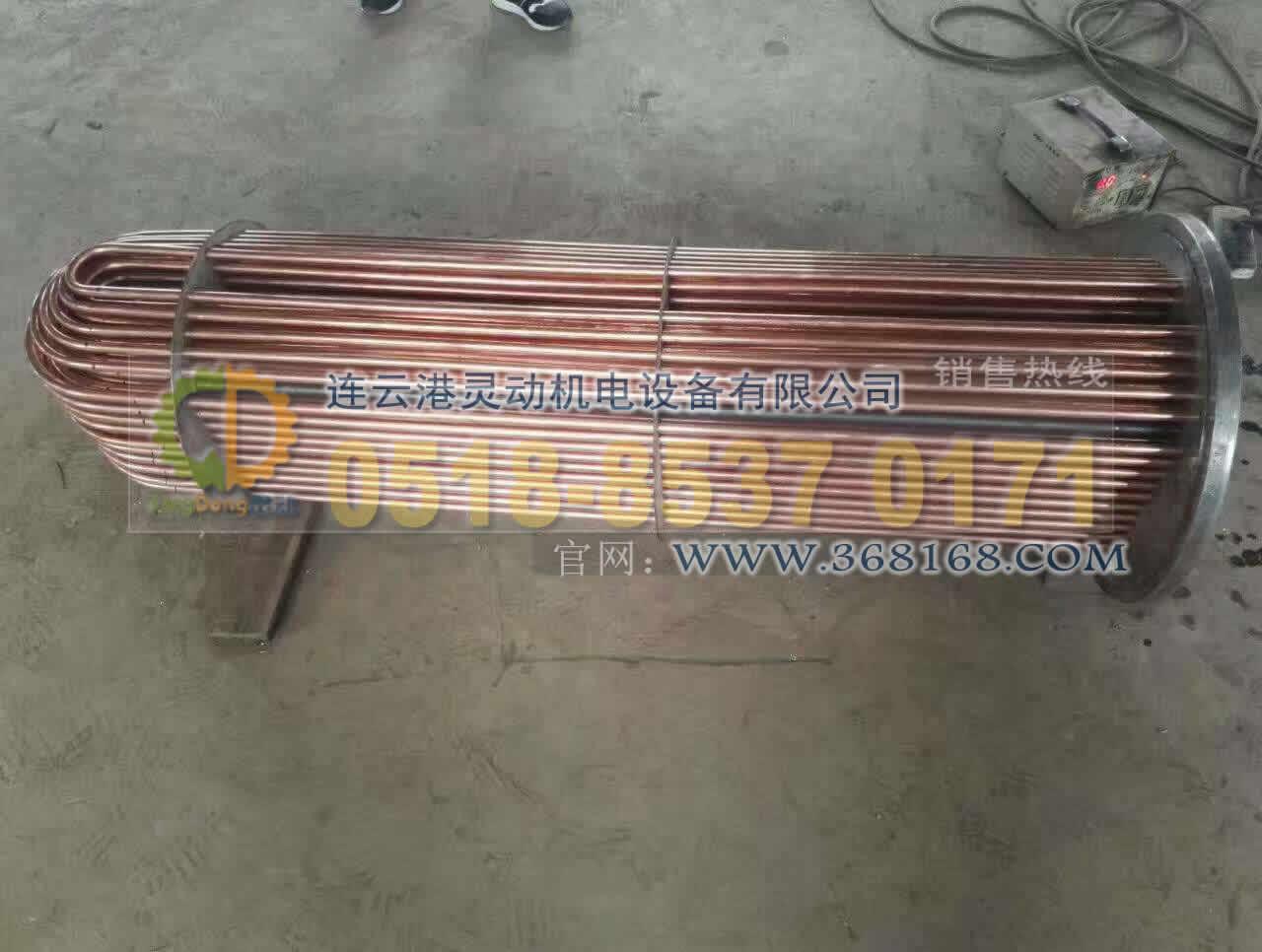 高压加热器铜管U型管换管改造