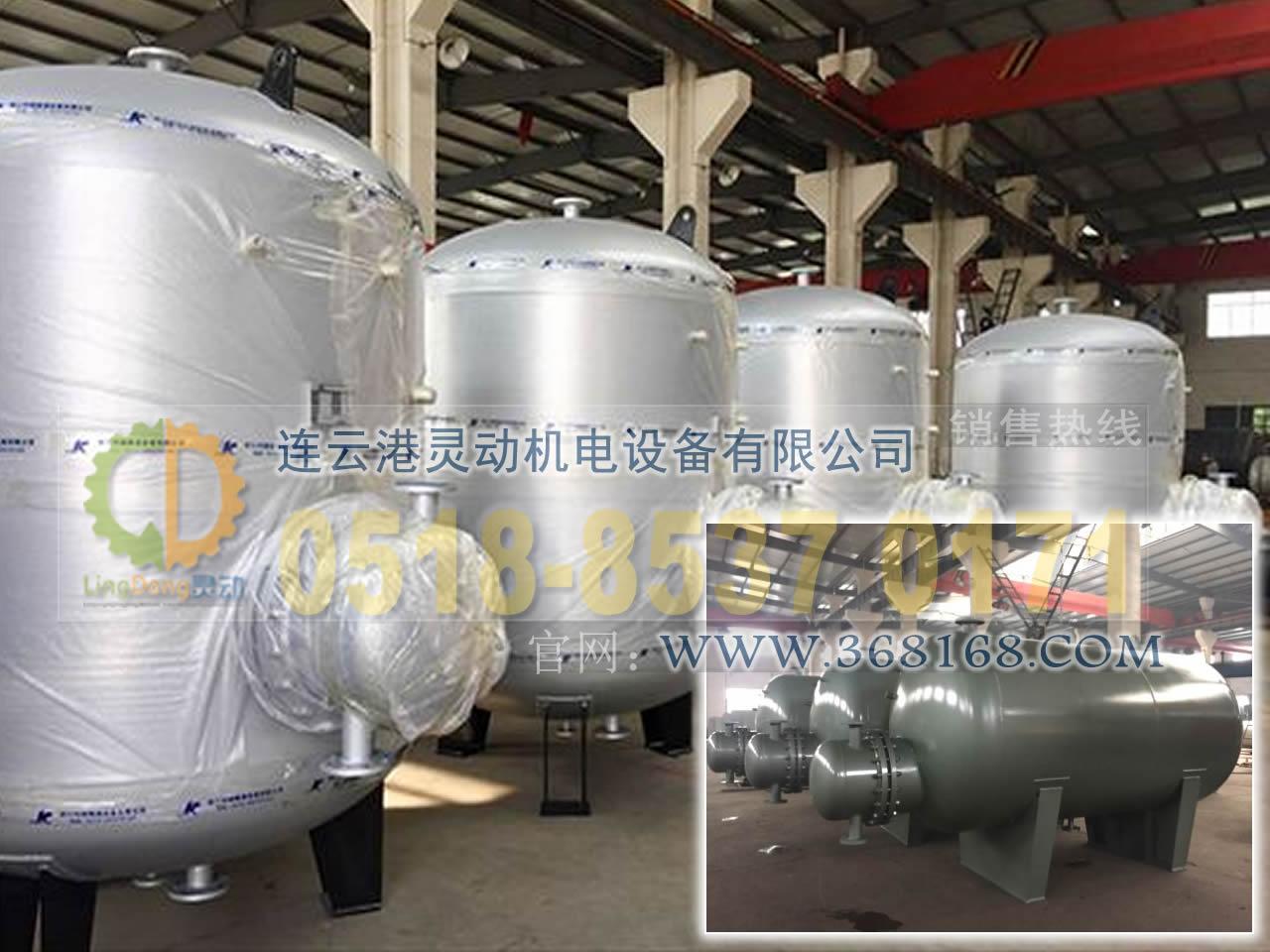 容积式换热器换管换芯改造生产厂家