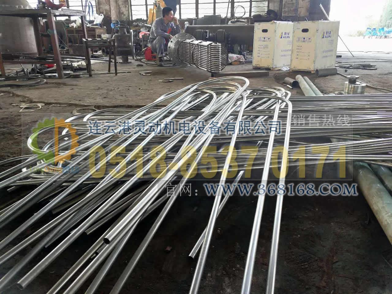 余热回收装置换管收能器换管不锈钢U型管安装厂家