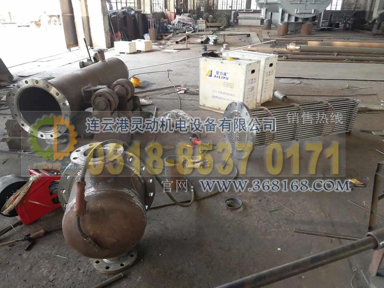 余热回收装置换管收能器换管不锈钢管安装厂家