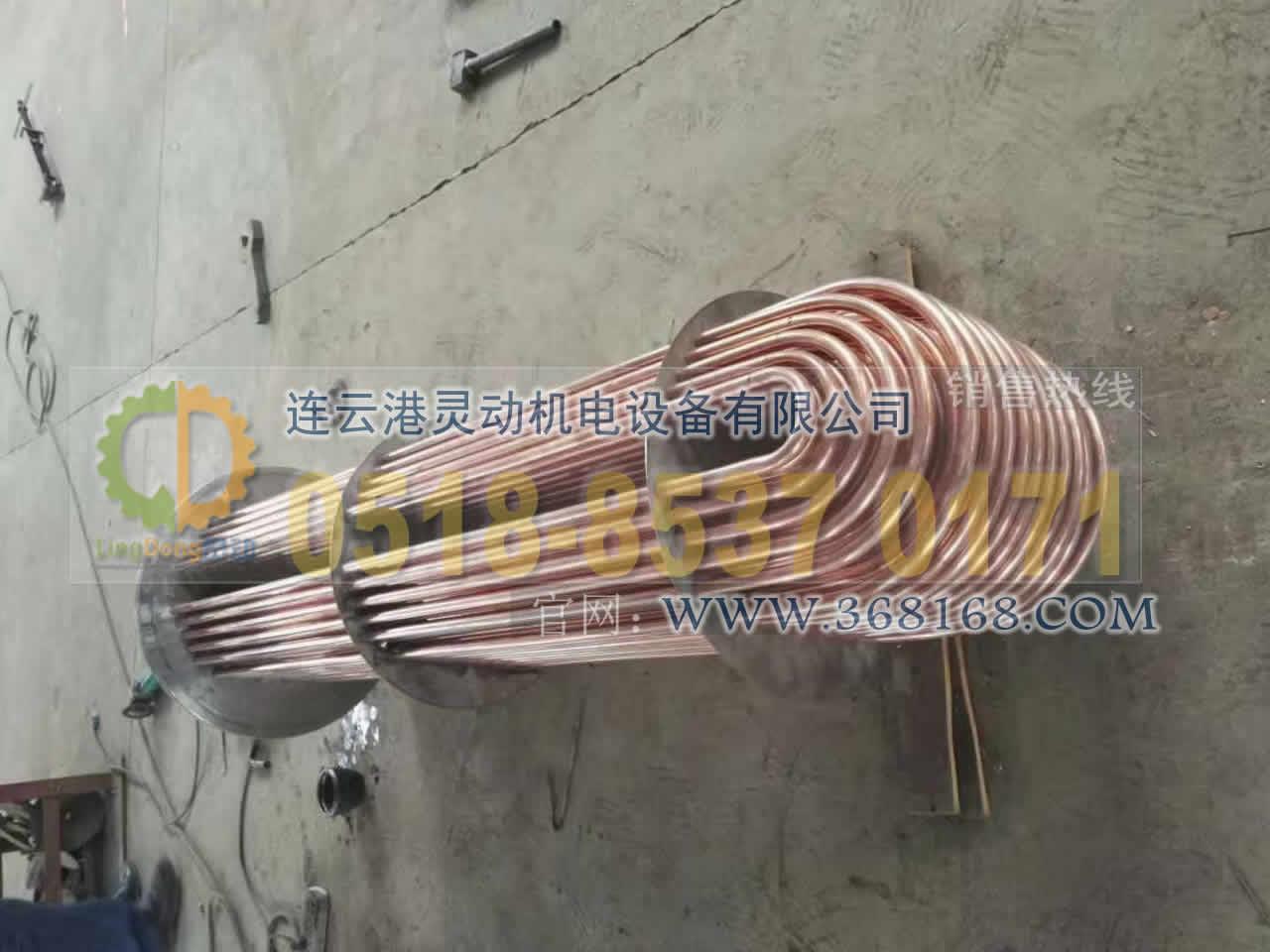 余热回收装置换管收能器换管铜紫管安装厂家