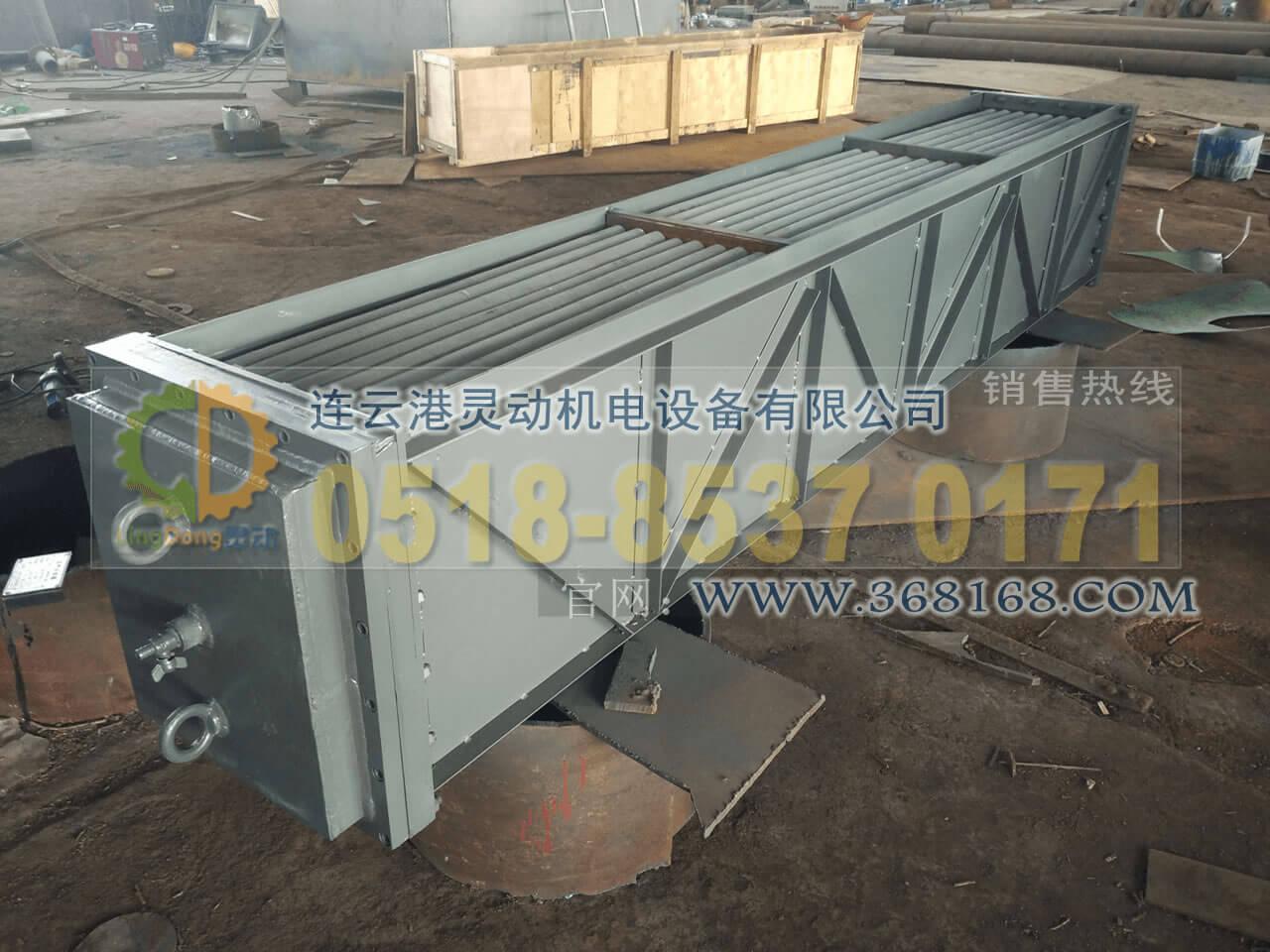 空气冷却器换管采用翅片管安装厂家