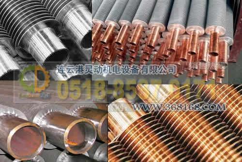 空气冷却器换管采用翅片管铜铝复合翅片管规格