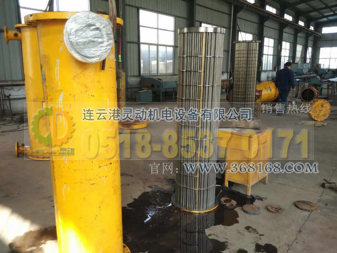 油水冷却器及列管式冷水器换管换不锈钢管厂家