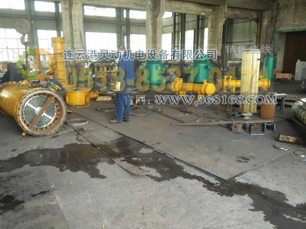 油水冷却器及列管式冷水器生产厂家冷水器换管