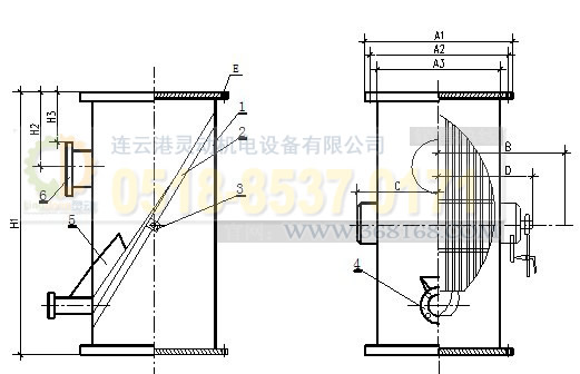 胶球清洗装置SD单网片式收球网生产厂家